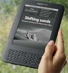 Kindle eReader (click for info.)