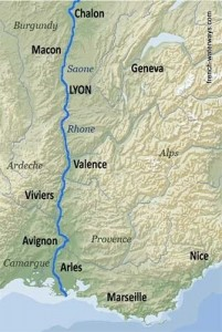River Rhone (and Saone)